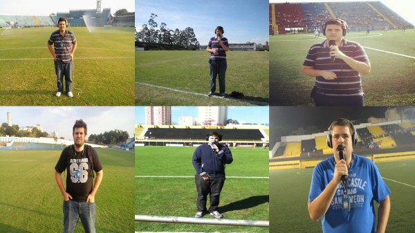 Cobri as equipes do ABC em todos os seus estádios e vi quase todas as suas fases (Foto: Gustavo Tomazeli)